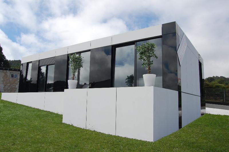 Dise o modular casas modulares de dise o - Casas prefabricadas baratas en galicia ...